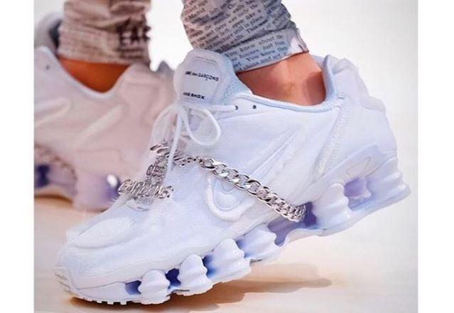 COMME des GARÇONS presenta los nuevos modelos Nike Shox 2019