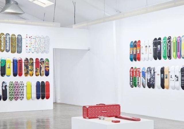 Todos los accesorios de Supreme que se hayan fabricado en una exposición