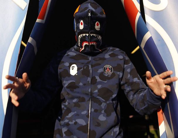 Paris Saint Germain x BAPE