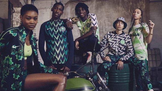 Nike reabastece la camiseta de Nigeria del Mundial 2018
