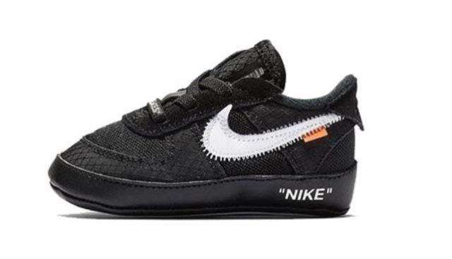 Nike lanzará las Off White x Nike Air Force 1 en tamaño bebé