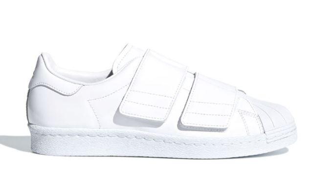 adidas Originals añade tiras de velcro brillantes a la Superstar 80s