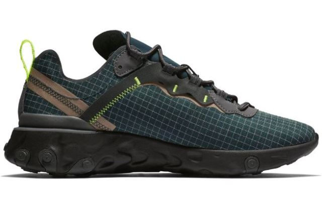 Llegan las Nike React Element 55 verdes