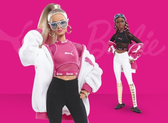 Llega la colección de muñecas Barbie PUMA doll 2018 exclusiva por el 50 aniversario de la firma