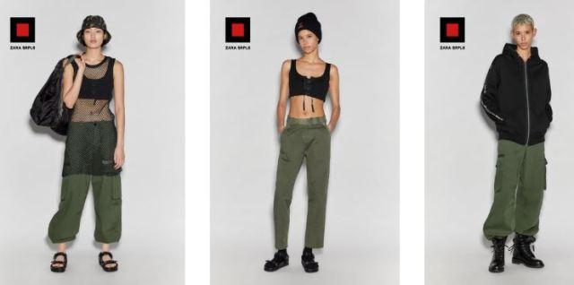¿Qué es Zara SRPLS? La nueva línea de prendas deportivas y de tendencia militar