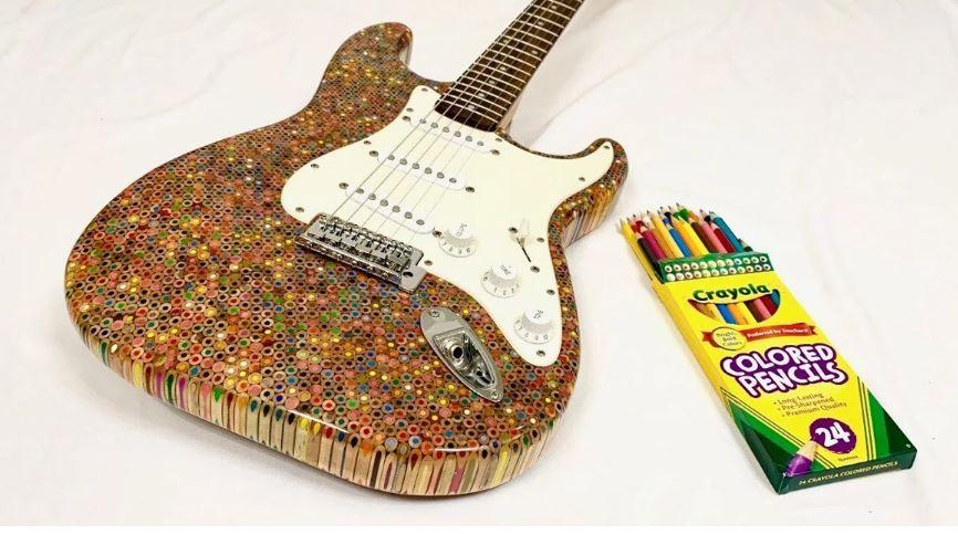 diseña una guitarra eléctrica