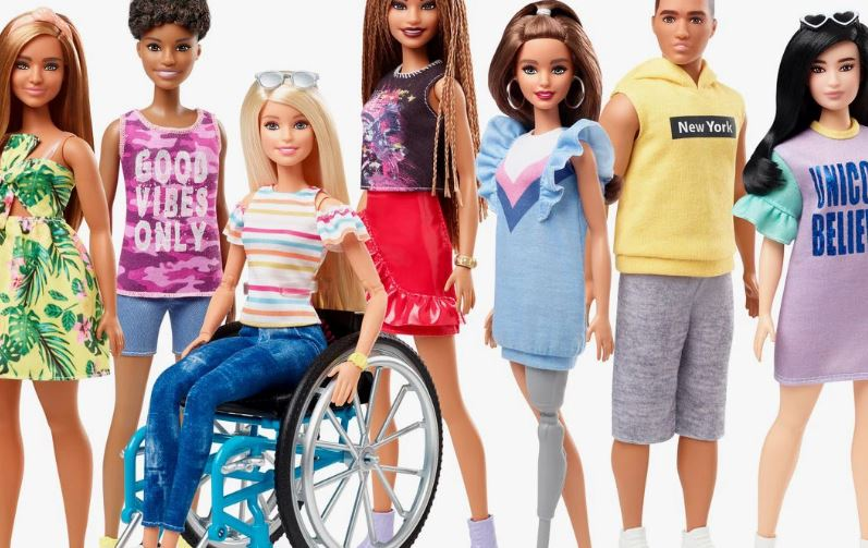 Barbie en silla de ruedas
