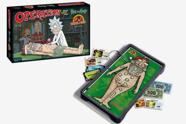 El juego de mesa de operación 'Rick and Morty' que no puede faltar en tu casa