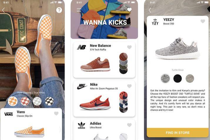 probar las zapatillas antes de comprarlas