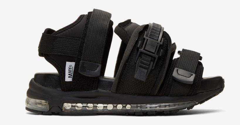 sandalias de estilo esqui