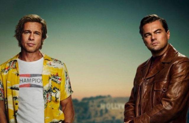 Leonardo Dicaprio revela el póster de la película 'Érase una vez en Hollywood' de Tarantino