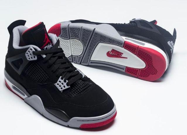 Las Air Jordan 4 Bred aceleran su fecha de lanzamiento