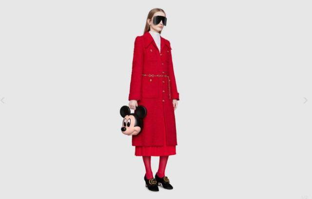 Gucci hace un homenaje al ratón de Disney con el bolso de Mickey Mouse