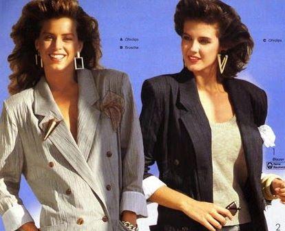 cómo era la moda en los años 80