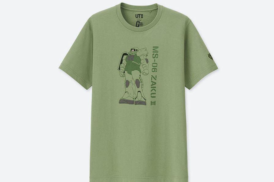 camisetas de Gundam
