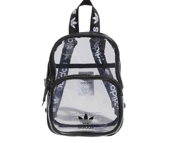 shoulder bag adidas transparente