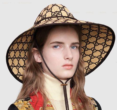 sombrero de Gucci