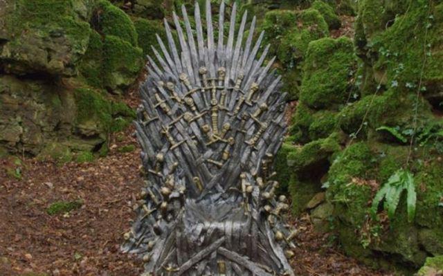 HBO ha escondido seis tronos de hierro para que los fans de 'Juego de tronos' los encuentren