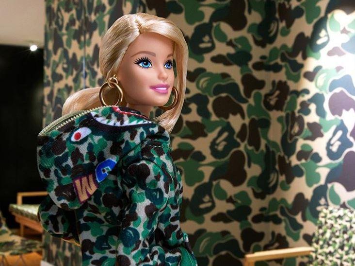 Barbie x BAPE