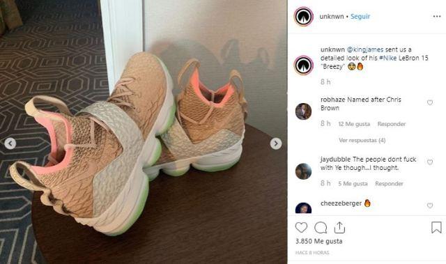 newest ac65e 8fac7 LeBron James presenta las Breezy, las Nike inspiradas en Yeezy