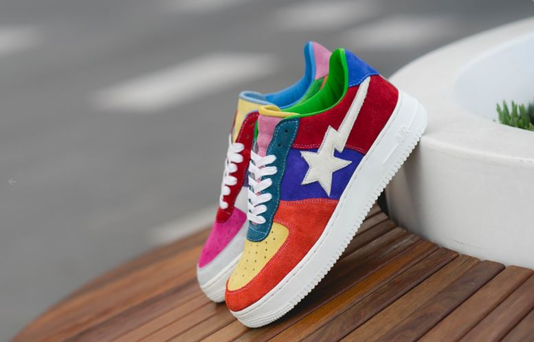 Nike Air Force 1 con parches