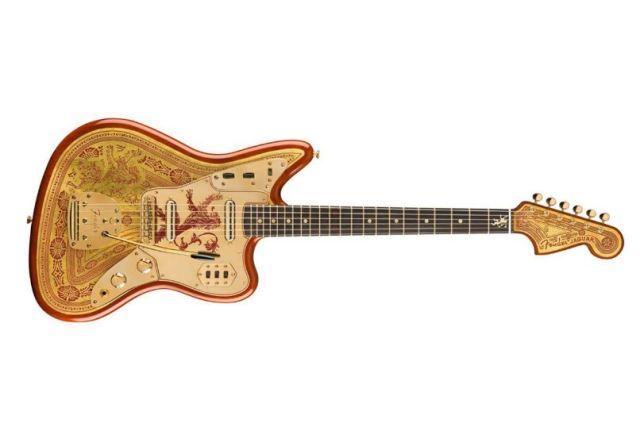 Fender presenta las guitarras Stark, Targaryen y Lannister de edición limitada