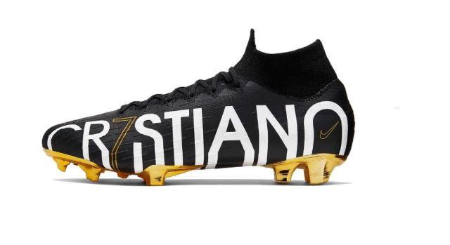 Nike rinde homenaje a Cristiano Ronaldo con unas Mercurial Superfly 360 CR7