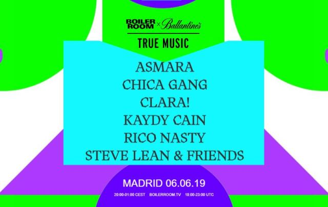 Nueva parada de True Music 2019 los días 5 y 6 de junio en Madrid