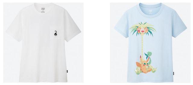 Las camisetas de Pokémon ganadoras del concurso anual de UNIQLO UT ya están aquí