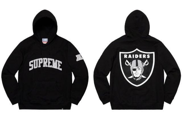 Supreme x Raiders