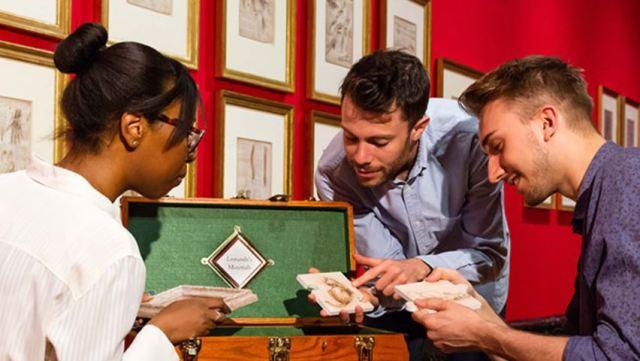 El Palacio de Buckingham ha abierto una escape room de Leonardo da Vinci