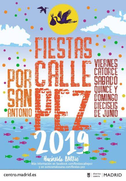 fiestas de la calle del Pez 2019