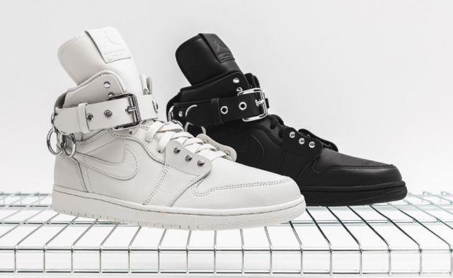 Echa un vistazo a las COMME des GARÇONS x Air Jordan 1 Retro High