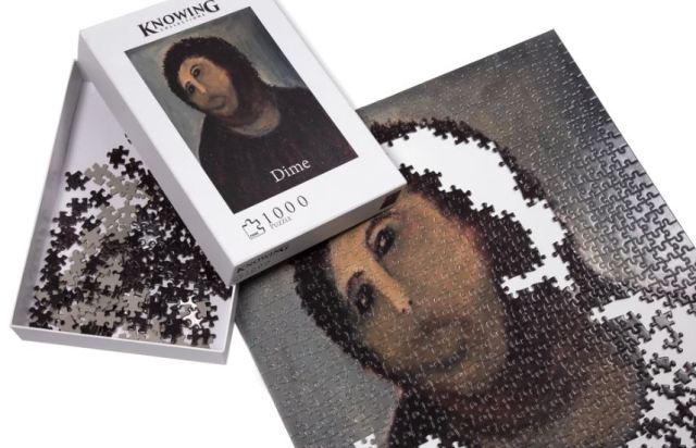 El puzle del Ecce Homo te permite que te conviertas en restaurador