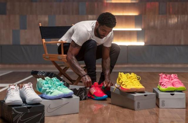 Llegan las zapatillas de Bob Esponja fruto de la colaboración entre Kyrie Irving y Nike