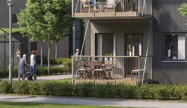 IKEA está diseñando casas adaptadas para personas con demencia