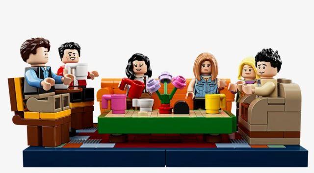 LEGO celebra el 25 aniversario de 'Friends' con el set de Central Perk
