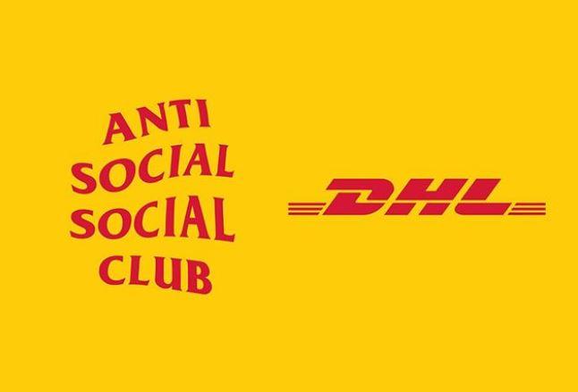 anti social social club x dhl