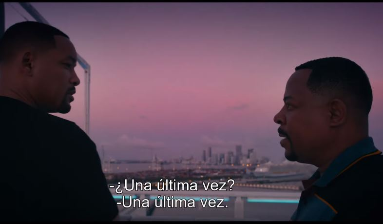 tráiler de bad boys for life