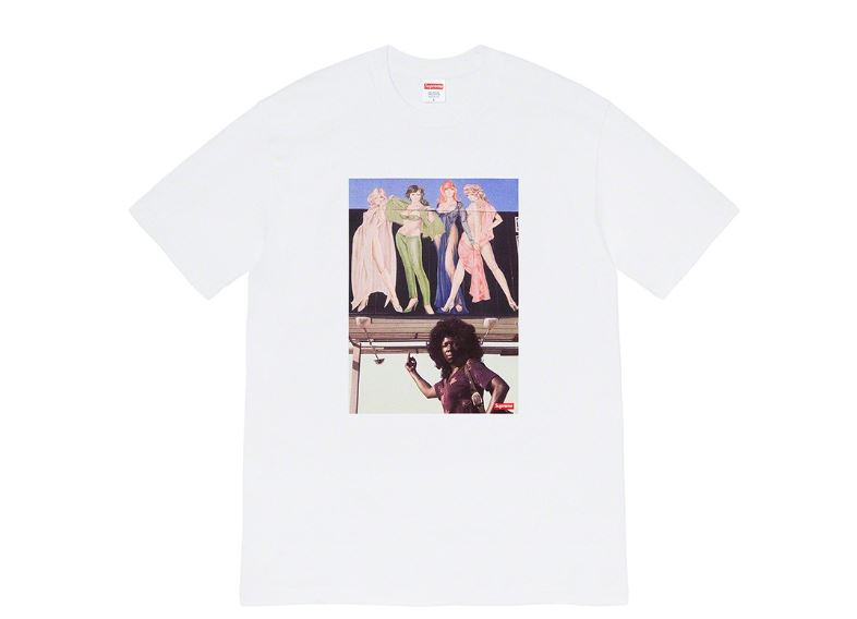 camisetas supreme fall 2019