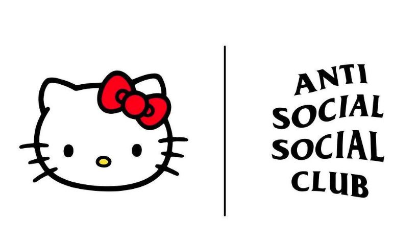 hello kitty x anti social social