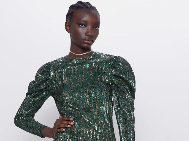 vestidos de lentejuelas 2019