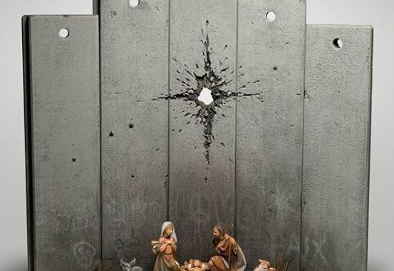 belén de Banksy