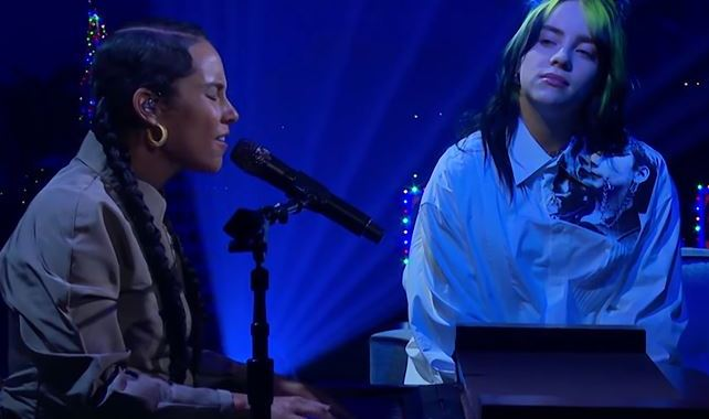 alicia keys y billie eilish