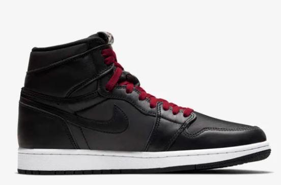 air jordan 1 negras y rojas