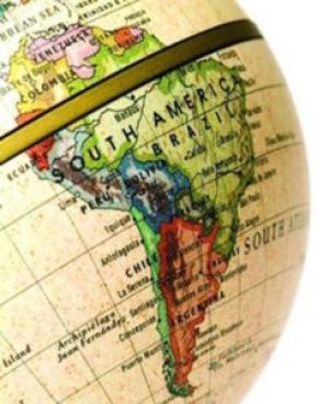 LATIN AMERICAN MAP GLOBE 2
