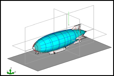 EMA model of the Cargo Lifter project