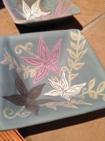 sgraffito with under-glazes