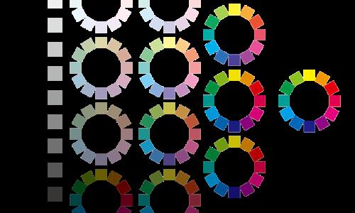 トーンのカラーチャート