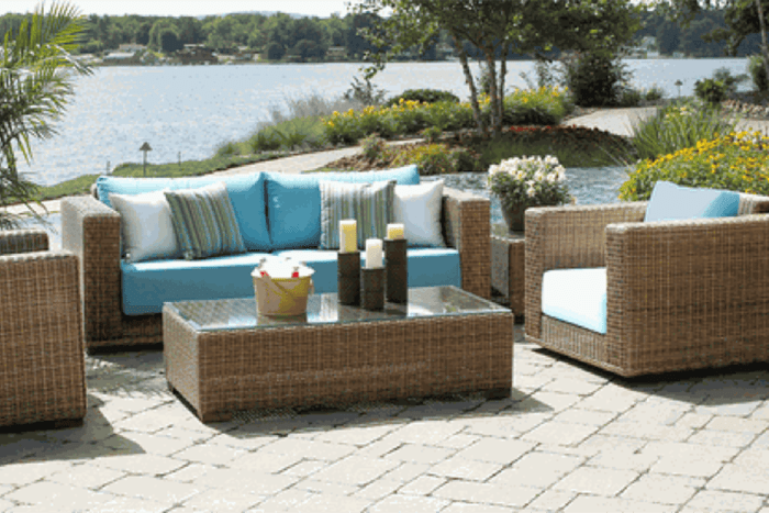 green up your outdoor living space